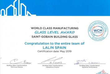 GLASSOLUTIONS LALÍN GANA EL PREMIO WCM,  THE GLASS AWARD